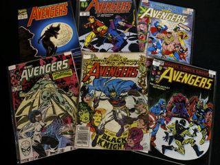 Qty 6  Marvel Avengers