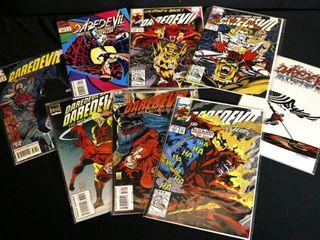 Qty 8  Marvel Daredevil No  310  311  313