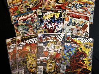Qty 7  Marvel Champions No  3  4  5  6  7  11  12