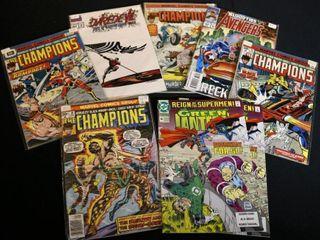 4 Marvel Champions No  4  5  10  11  Avengers No