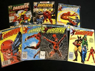 Qty 7  Marvel Daredevil Vol 1  No  146  156  183