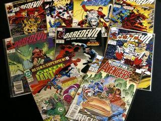 Qty 7  Marvel Daredevil No  257  265  308  309  3