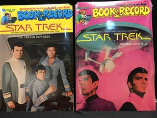 Book and Record  Star Trek PR   25  PR 26 1979