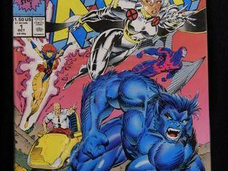 Qty 9  Marvel X Men Vol 1  No  1