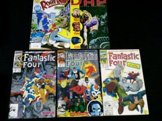 Fantastic Four  Vol 1  No  347  348  349