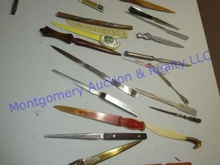 lETTER OPENER COllECTION