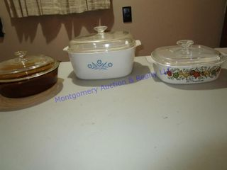 CORNINGWARE DISHES