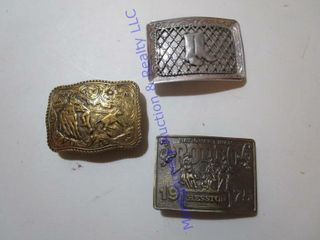 OlD BElT BUCKlES