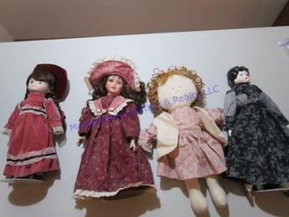 ASSORTED DOllS