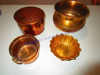 SPIT TUN   COPPER ITEMS