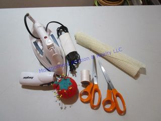 SUNBEAM IRON   SEWING ITEMS