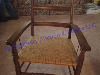 WICKER BOTTOM CHAIR