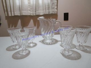PITCHER   GlASSES