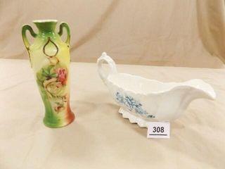 German Vase  Dresden Pouring Bowl