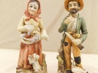 Couple Figurines  Homco  8