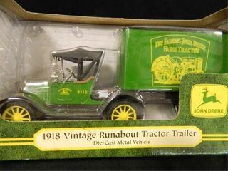 Ertl John Deere 1918 Tractor Trailer