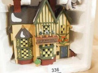 Dept 56 Nichols Toy Shop  Dickens Village