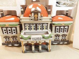 Dept 56 Victoria Station  Dickens Village