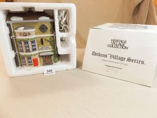 Dept 56 Post Office  Dickens Village