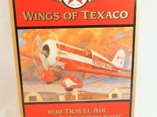1997 Texaco Model R Metal Airplane Bank