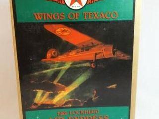 1993 Texaco lockheed Metal Airplane Bank