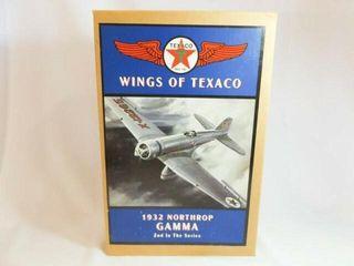 1994 Texaco Northrop Metal Airplane Bank