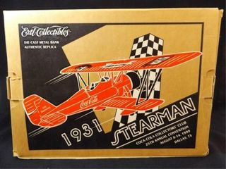 1999 Coca Cola Sterman Metal Bank