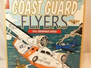Ertl Coast Guard Flyer Metal Bank