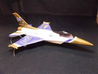 Racing Champion F 16 Falcon Metal Bank