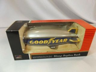 Spec Cast Goodyear Blimp Metal Bank