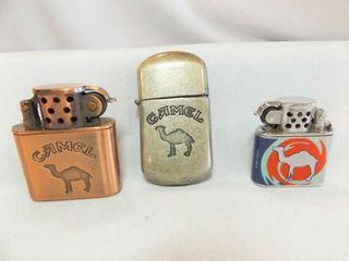 Camel lighters  3