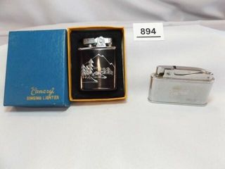Musical lighters  2  Canary in box