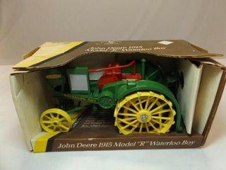 John Deere 1915 Model R Metal Tractor