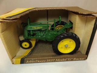 John Deere 1937 Model G Metal Tractor
