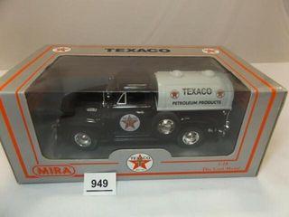 Texaco 1953 Chevrolet Metal Tanker  Black