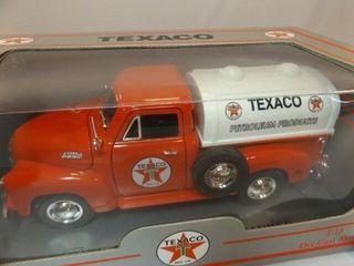 Texaco 1953 Chevrolet Metal Tanker  Red