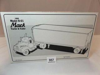 1994 Mack B 61 Mobil Metal Truck
