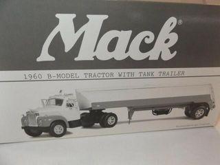 1999 Texaco Mack B Model Metal Truck