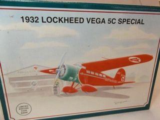 1992 Spec Cast Conoco Metal Bank Airplane