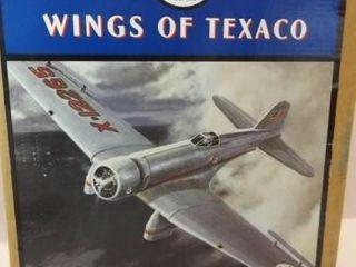 1994 Texaco Gamma Metal Bank Airplane