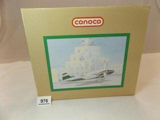 Conoco DC 3 Metal Bank Airplane