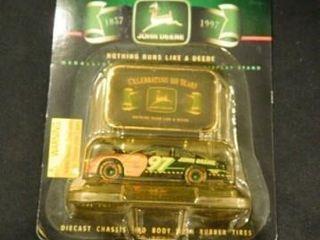 John Deere Race Car Toy Replica