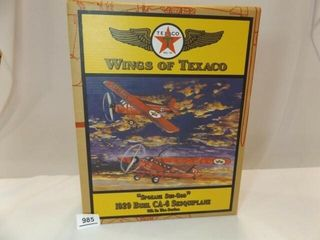 2001 Texaco Sesquiplane Metal Bank