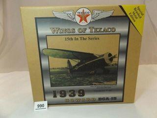 2007 Texaco Howard Metal Airplane