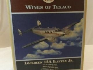 2009 Texaco Electra Metal Bank Airplane