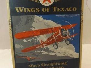 2005 Texaco Waco ASO Metal Bank Airplane