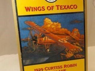 1998 Texaco Robin Metal Bank Airplane