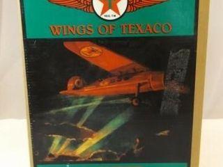 1993 Texaco Air Express Metal Bank Airplane
