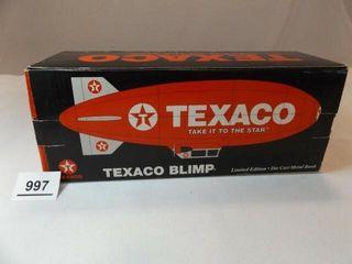 Spec Cast Texaco Blimp Metal Bank