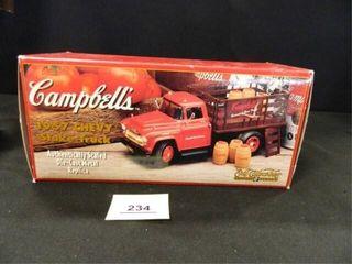 Ertl Campbell s Soup Co  Truck